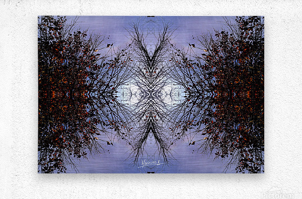 nube 57  Metal print