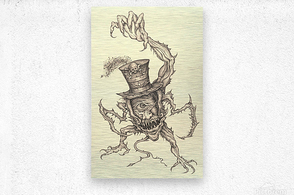 Child_Eater  Metal print