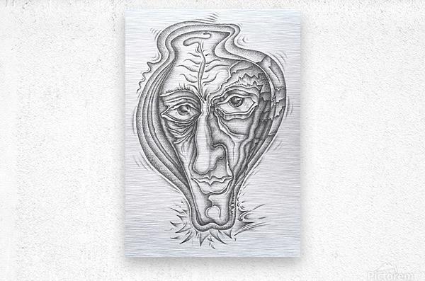 Portrait_1  Metal print