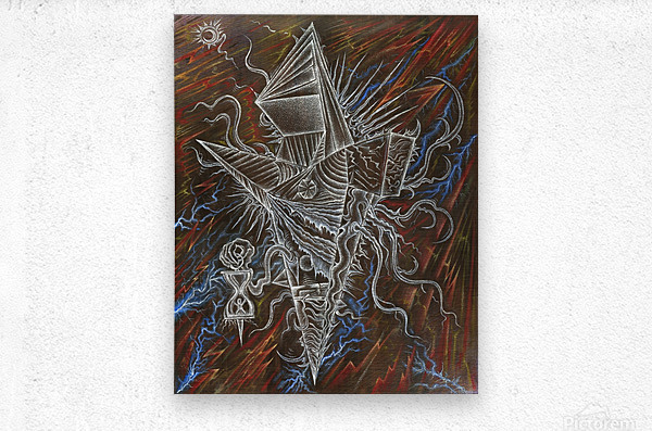 Deity_From_The_Abyss_2  Metal print