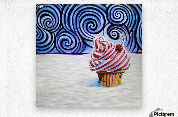 Cupcake  Impression metal