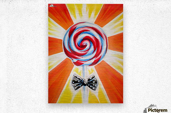 Lollipop  Metal print
