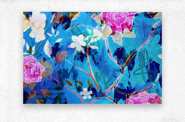 Full Bloom  Metal print