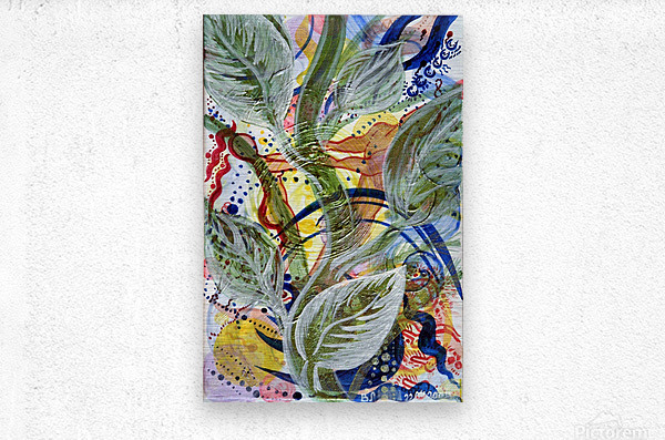 Sprout Of Love  Metal print