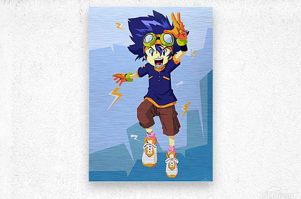 Digimon  Metal print