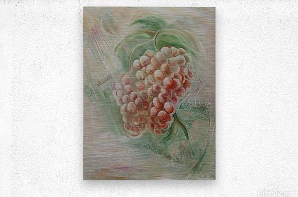 Grapes 14  Metal print