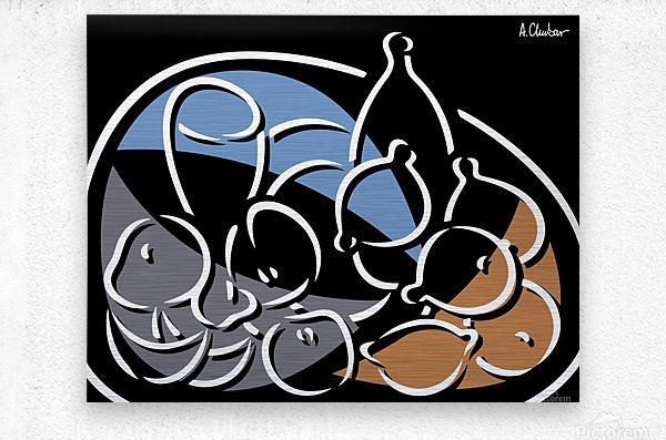 Still Life 6  Metal print