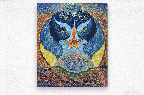 BNC1999-07  Metal print