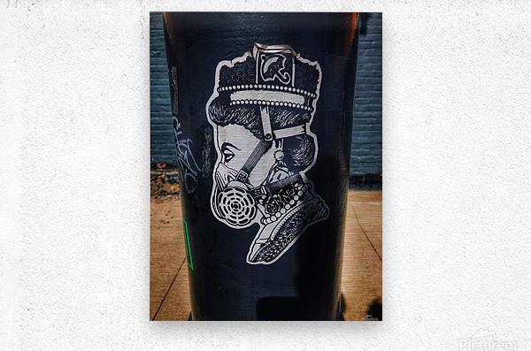 New Royal Crown  Metal print