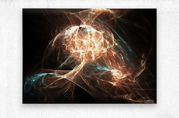 Philosopher  Metal print