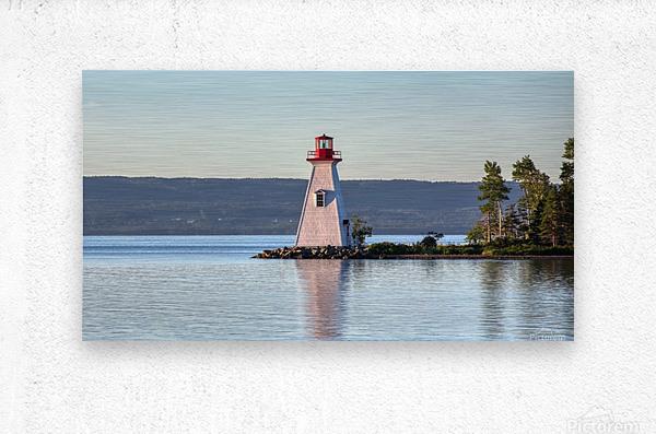 Baddeck Lighthouse  Metal print