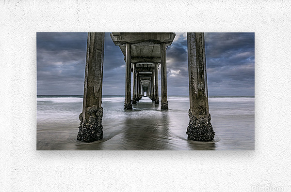 The Gate to the Storm  Metal print