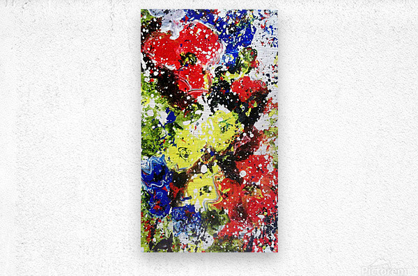 Primary Blossom 1  Metal print
