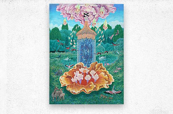 1991 010  Metal print