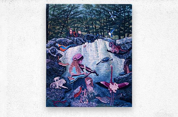 1987 026  Metal print