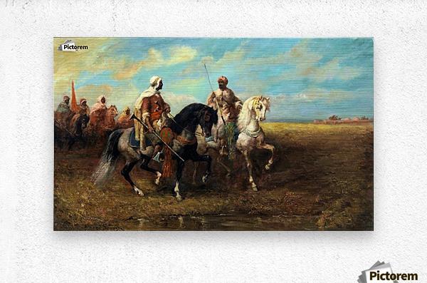 Arab Horsemen  Metal print