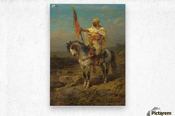 Arab rider  Metal print