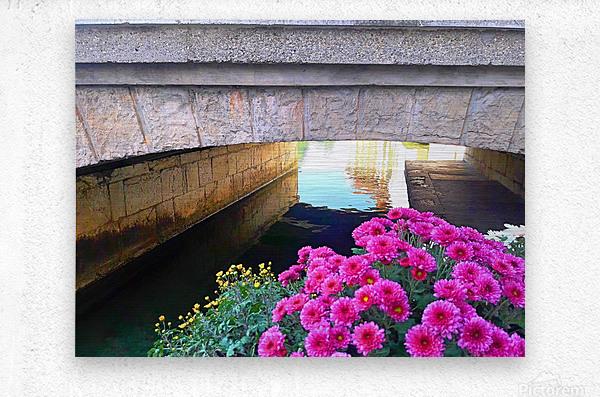 France Water Under The Bridge  Metal print