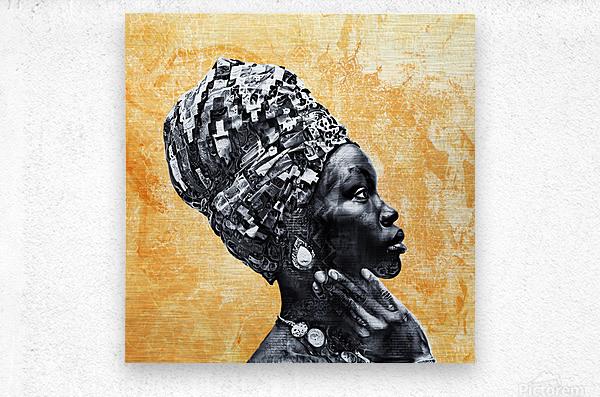 Color Through Culture II  Metal print
