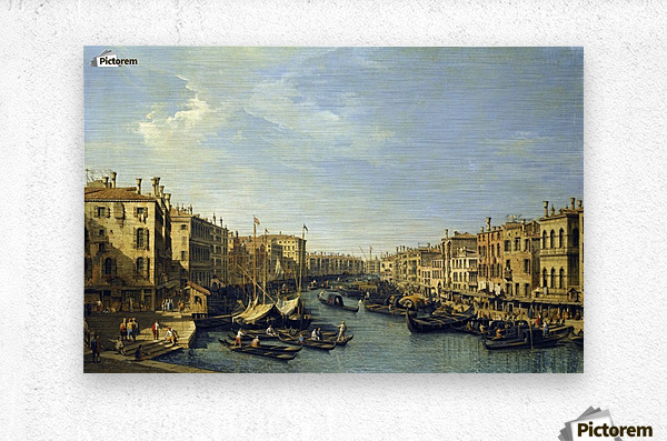 Venice - The Grand Canal  Metal print