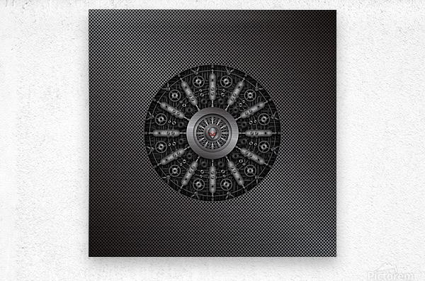 Altered Carbon Collider  Metal print