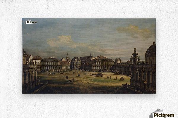 Zwinger in Dresden  Metal print