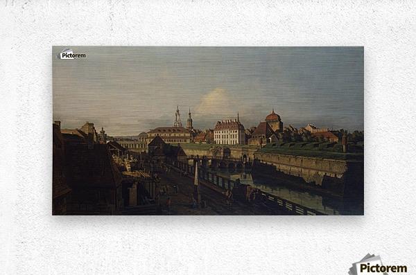 Old Fortifications of Dresden  Metal print