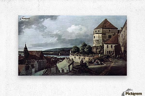 View from Pirna  Metal print
