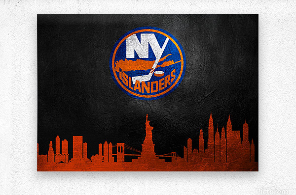 New Jersey Islanders  Metal print