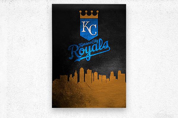 Kansas City Royals  Metal print