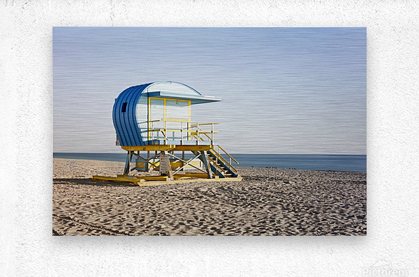 Miami Beach 105  Metal print