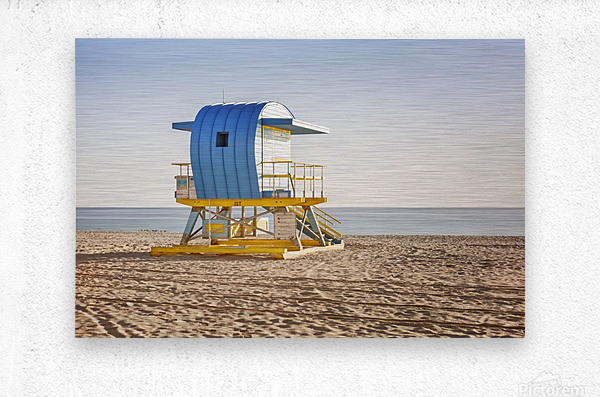 Miami Beach 117  Metal print
