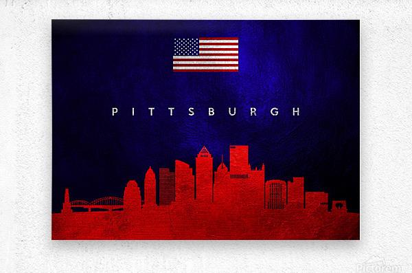 Pittsburgh Pennsylvania  Metal print
