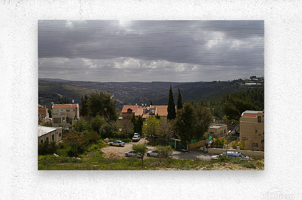 South Jerusalem  Metal print