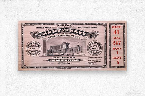 1926 Army vs. Navy  Metal print