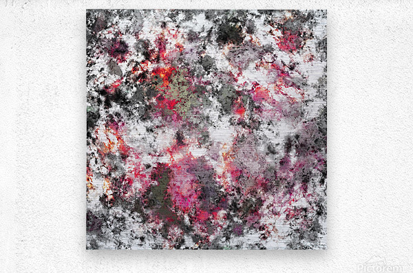 Frosty pink  Impression metal