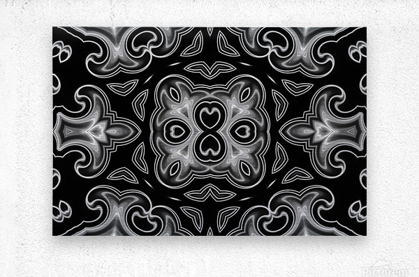 Fine art - Fractal  Metal print