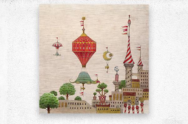 Tartlellino Balloone  Metal print