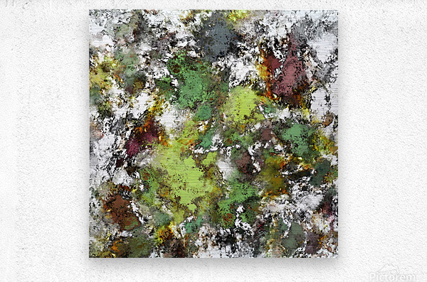 Invisible surface  Metal print