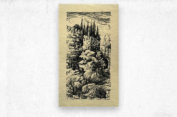 BNC1967-023  Metal print