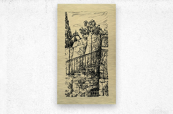 BNC1967-024  Metal print