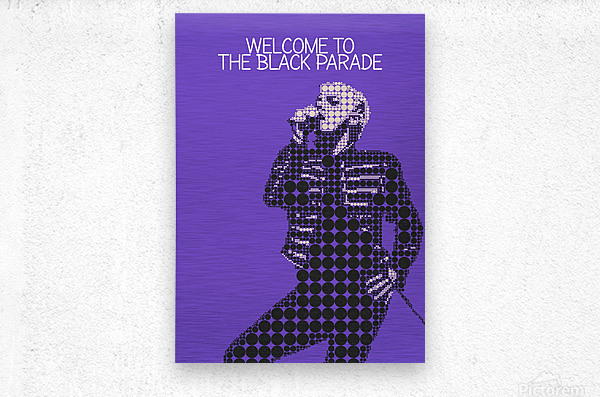 Welcome To The Black Parade   Gerard Way  Metal print