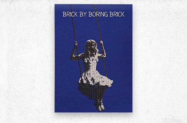 Brick By Boring Brick   Hayley Williams   Paramore  Metal print