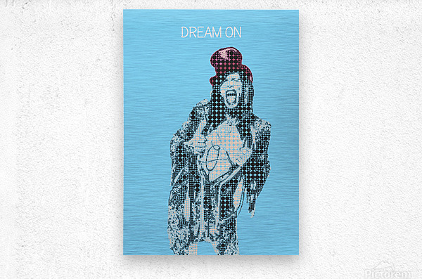 Dream On   Steven Tyler   Aerosmith  Metal print