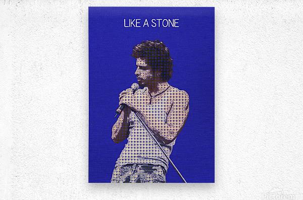 Like a Stone   Chris Cornell   Audioslave    Metal print