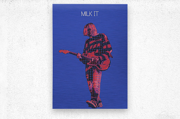 Milk It   Kurt Cobain   Nirvana Live in Chicago October 23 1993  Metal print