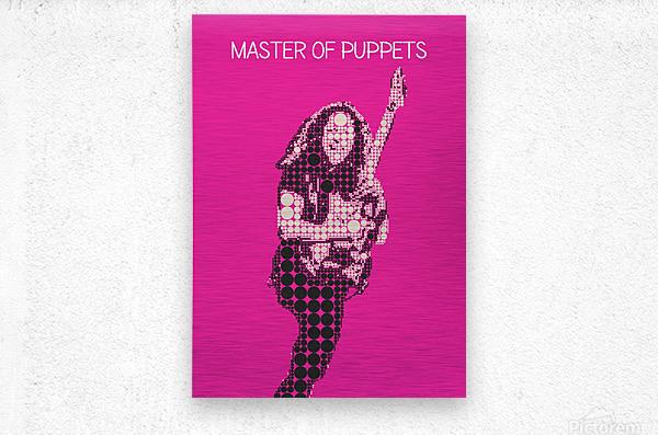 Master Of Puppets   Kirk Hammett  Metal print