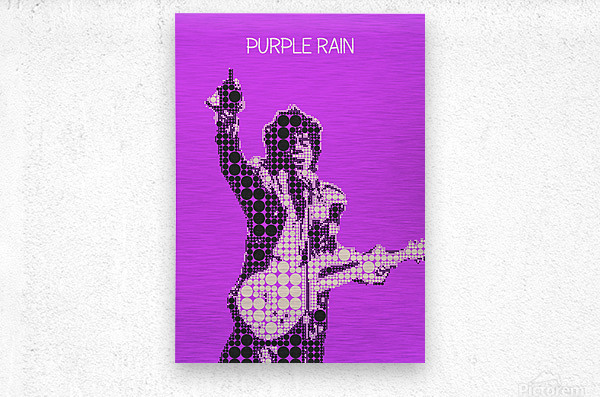 Purple Rain   Prince  Metal print