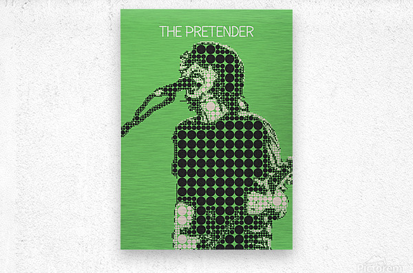 The Pretender   Dave Grohl  Metal print