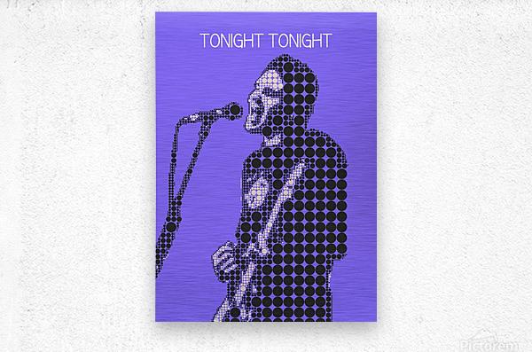 tonight tonight   billy Corgan  Metal print